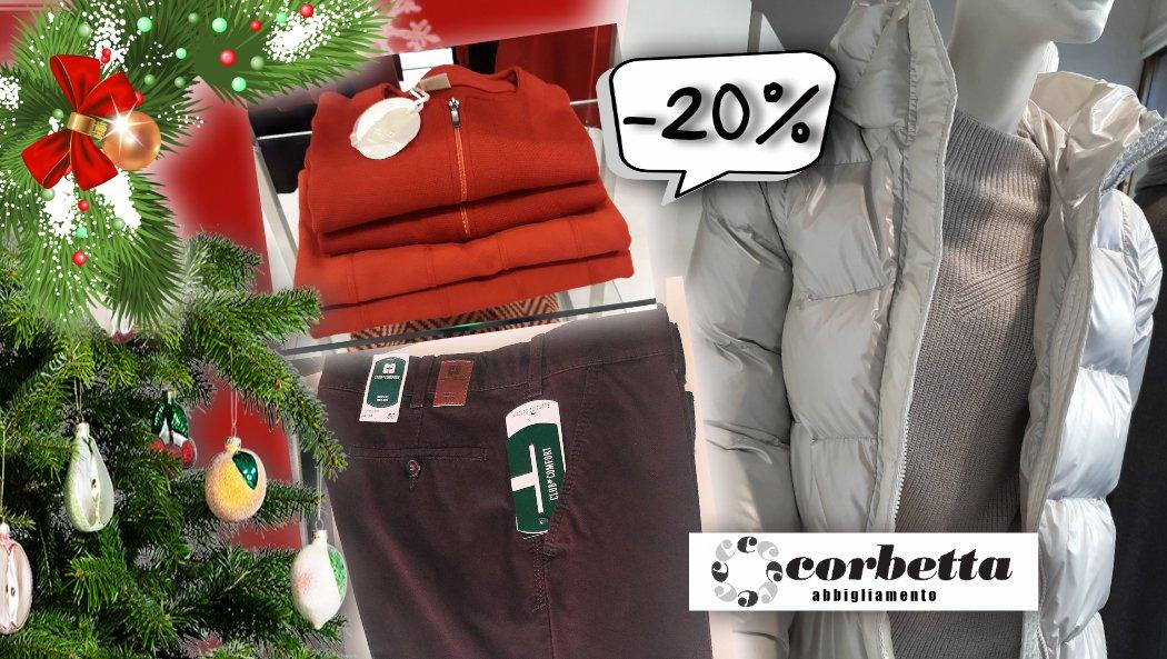 Special Promo di Natale da Corbetta Abbigliamento