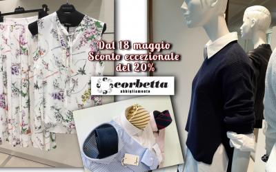 Corbetta Abbigliamento riparte con una Promo Speciale